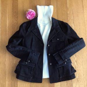 🌹Ralph Lauren jeans jacket blazer black - Sm